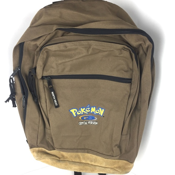 Pokemon Crystal version backpack Jansport style. M 5b929676fe5151dabf99a64e 0d2e971c1525d